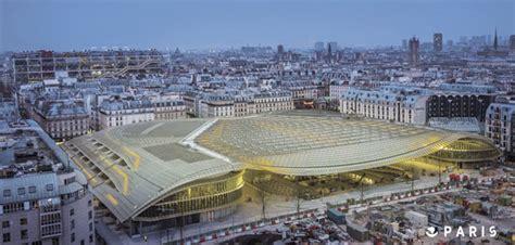 Paris  La Canopée S'impose Dans Le Quartier Des Halles