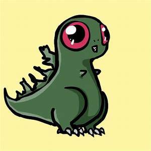 Cute Godzilla Drawing | www.imgkid.com - The Image Kid Has It!