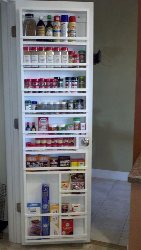 Spice Rack For Pantry Door by My Husband Made This For Me Great Pantry Spice Rack Now