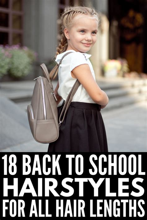 18 Simple and Easy Back to School Hairstyles for Girls We Love