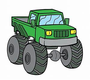 Monster Truck Drawing At Getdrawings