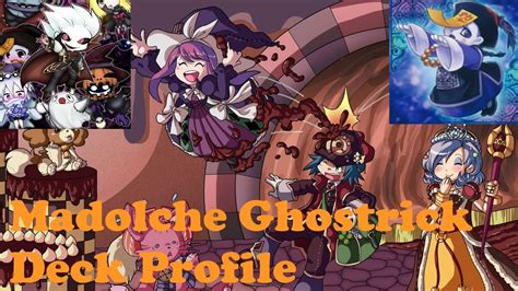 yugioh madolche deck 2014 2nd place madolche ghostrick deck profile march 2014