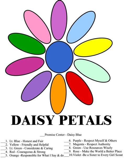 daisy petals  color