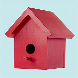Easy One-Board Bird House Plans