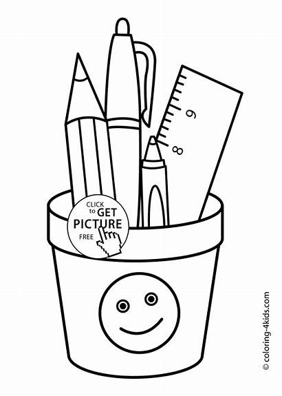 Coloring Pages Drawing Printable Ruler Colouring Class