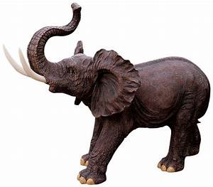 10 Gorgeous Elephant Sculptures for the Home and Garden!