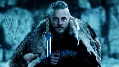 Ragnar Vikings Lothbrok Viking Da Rei Series