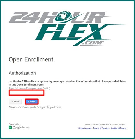 open qualifying entry form cobra open enrollment guide 24hourflex
