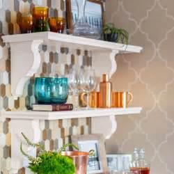 kitchen wall shelf ideas built in kitchen wall shelf