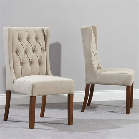 home  clematis solid oak upholstered dining chair wayfair uk
