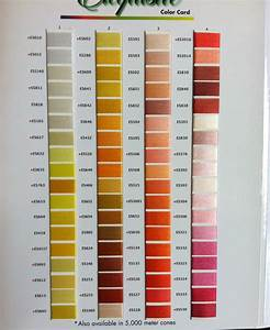 Robison Anton Thread Conversion Chart Exquisite B13070 Real Thread 300 Color Card Chart 40wt