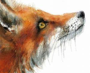 25+ best ideas about Fox painting on Pinterest ...