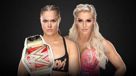 raw womens champion ronda rousey  charlotte flair wwe