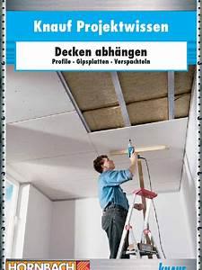 Knauf Decke Abhängen : rigips knauf decke abhaengen ~ Orissabook.com Haus und Dekorationen