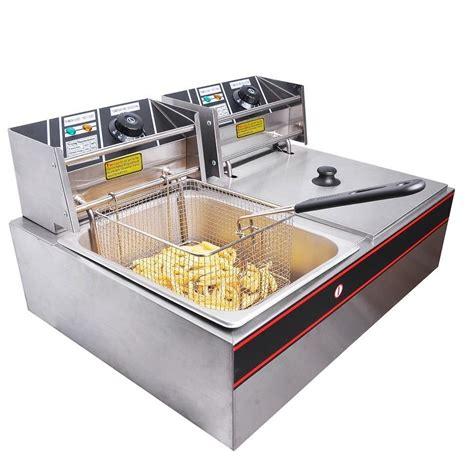 fryer fryers commercial deep electric countertop