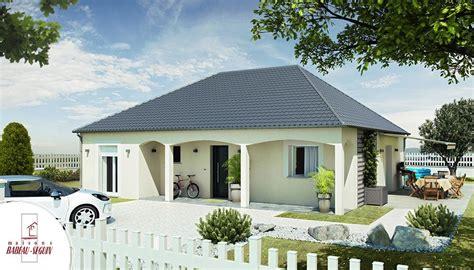 plan maison 4 chambres plain pied sellière modèle maison plain pied