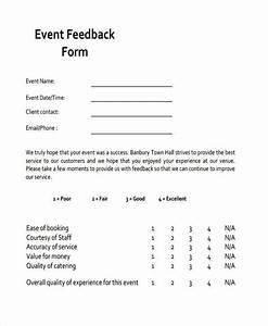 Feedback Form Examples