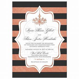 modern wedding invitation faux copper foil charcoal With kitchen colors with white cabinets with wedding envelope stickers