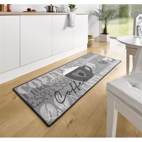 tapis cuisine tapis de cuisine coffee cup gris 67x180 cm 102370