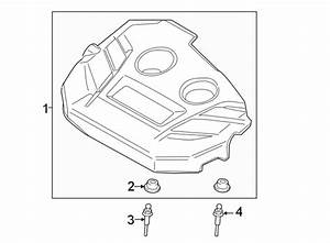 2017 Ford Edge Engine Cover Grommet  1 6 Liter  2 0 Liter