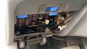 1996 Nissan Pathfinder Fuse Box Location