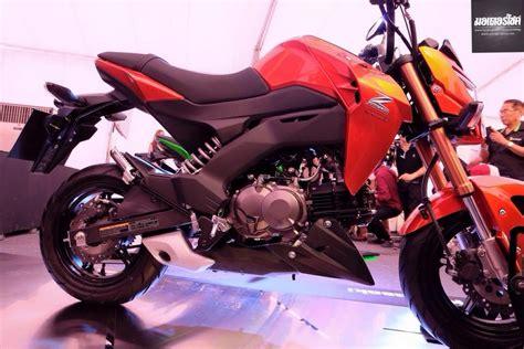 Modification Kawasaki Z125 Pro by Kawasaki Showcases Smallest Z Series Yet Z125 And Z125 Pro