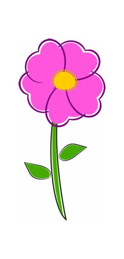 Flower Clipart Pot Cliparts Clip Flowers Flor