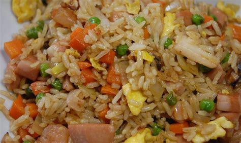 riz cantonais aux fruits de mer recette az