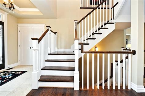 Small Stair Railing by 21 Wood Stair Railing Design Ideas Pictures Within