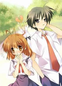 Nagisa and Tomoya. Plus Sunohara - Clannad/Clannad After ...