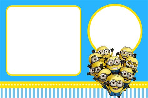 minions invitation template despicable me invitations and free printables oh my in