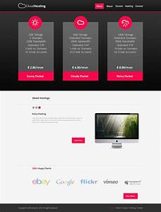 Simple web template by wizardcreative on deviantart for Simple homepage template
