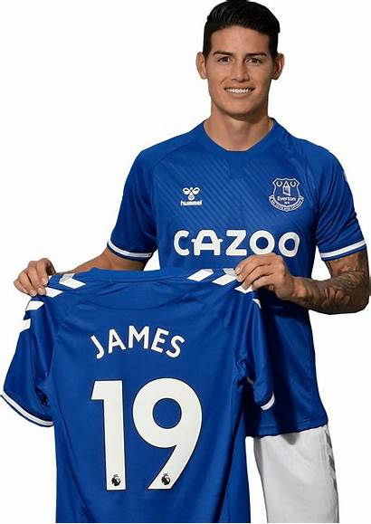 James Rodriguez Render Everton Footyrenders Premier League