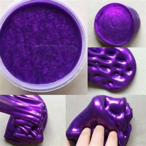 metallic slime diy slime slime slime squishy