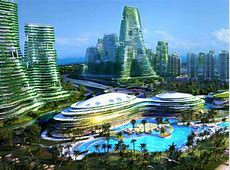 Forest City a futuristic green city for Malaysia1