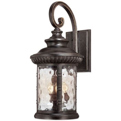 Outdoor Chimera by Quoizel Chimera Outdoor Wall Lantern In Imperial Bronze