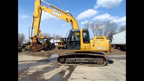 john deere  lc excavator  sale sold  auction    youtube
