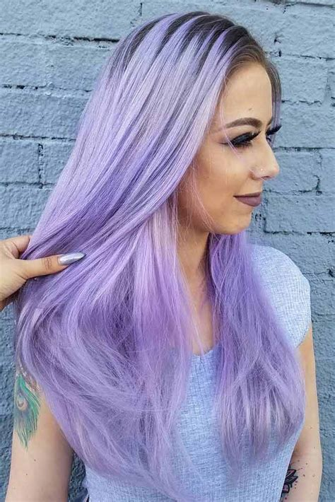 light purple hair 33 light purple hair tones that will make you want to dye