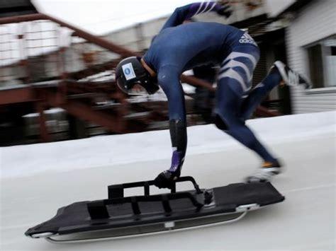 Skeletonā otro braucienu atceļ lietus dēļ - Ziemas sports - Sportacentrs.com