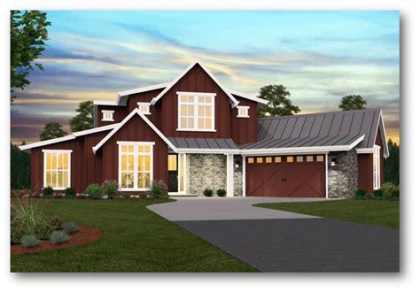Modern Farmhouse Plan By Mark Stewart Home Design