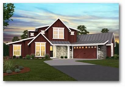 Farmhouse Modern Plans Plan Story Floor Garage