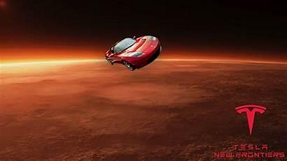 Tesla Roadster Mars Space Spacex Falcon Heavy