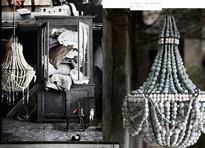Lustre En Bois : atelier rue verte le blog lustres et perles de bois ~ Teatrodelosmanantiales.com Idées de Décoration