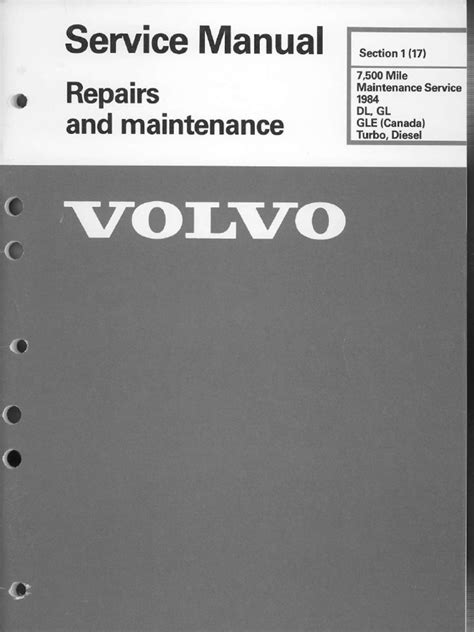 volvo  manual  service  maintaince tire