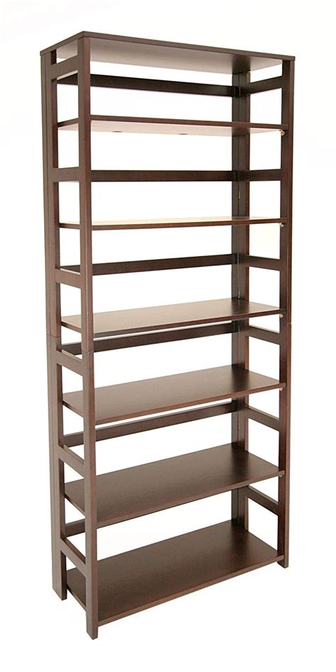 top  folding bookcases  bookshelves     home