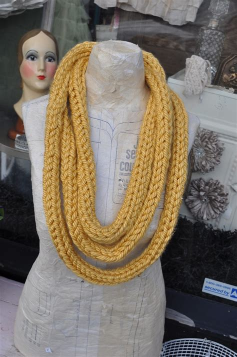 hand knitted infinity scarf favecraftscom