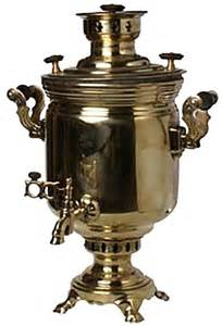 Russian Teapot Samovar