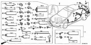 2015 Acura Tlx Car Wiring Harness