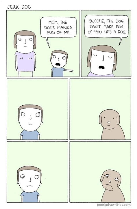 jerk dog comic meme poorly drawn lines bullshft
