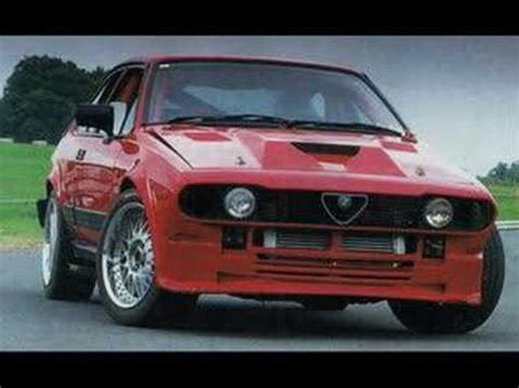 alfa romeo gtv racing sound youtube